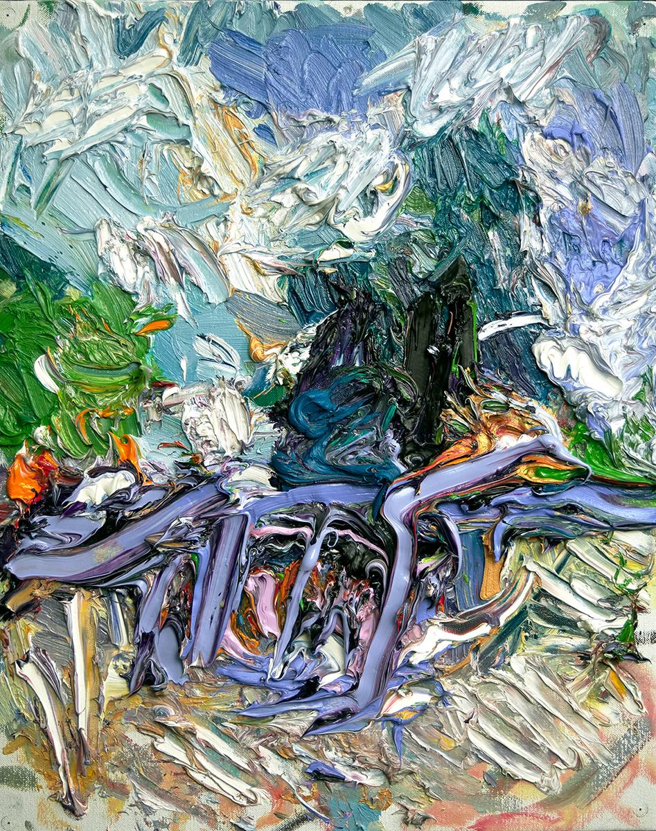 Ying Li, To the Secret Garden, 2018, oil on linen, 24 x 18 inches